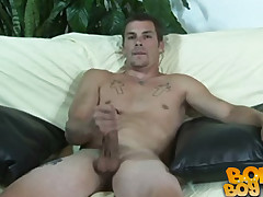 SBJO - Johnny Irish Plays with his big cock
